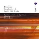 Honegger : Symphonies Nos 1 - 5, Pacific 231 & Rugby  -  Apex/Charles Dutoit & Symphonieorchester des Bayerischen Rundfunks