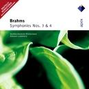 Brahms : Symphonies Nos 3 & 4  -  Apex/Edouard Lindenberg & North-West German Philharmonic Orchestra
