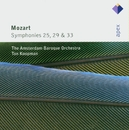Mozart : Symphonies Nos 25, 29 & 33  -  Apex/Ton Koopman & Amsterdam Baroque Orchestra