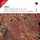 Widor : Organ Symphonies Nos 4 - 6 & 9, Organ Symphonies 1 - 3 [Excerpts]  -  Apex/Marie-Claire Alain