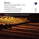 Enescu : Orchestral Works  -  Apex/Jean-Paul Barrellon, Franco Maggio-Ormezowski, Lawrence Foster & Monte-Carlo Philharmonic Orchestra