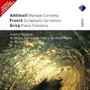 Addinsell, Franck & Grieg : Works for Piano & Orchestra  -  Apex/Gabriel Tacchino, Armin Jordan & Orchestre National de l'Opéra de Monte Carlo