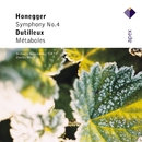 Honegger : Symphony No.4 & Dutilleux : Métaboles  -  Apex/Charles Münch & Orchestre National de lO.R.T.F.