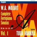 W.A. Mozart : Complete Fortepiano Sonatas Vol. 1/Tuija Hakkila