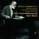 Brahms: Symphony No.2 & Academic Festival Overture/Kurt Masur & New York Philharmonic Orchestra