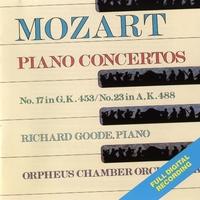 Mozart Piano Concertos No. 17 In G, K.453/No. 23 In A , K.488