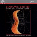 Benjamin Britten: Streichquartette/Philharmonia Quartett Berlin