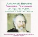 Brahms: Sinfonien Nr. 1 & 4/Philharmonische Vereinigung Arte Sinfonica, Heribert Brandt