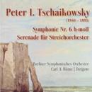 Tschaikowsky: Symphonie Nr 6 in h-moll & Serenade für Streichorchester/Berliner Symphonisches Orchester, Carl A. Bünte