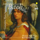 Bach: Flute Sonatas Vol. 1/Karl Kaiser, Musica Alta Ripa