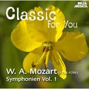 Mozart: Symphonien - Vol. 1/Orchestra Filarmonica Italiana