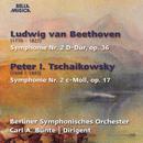 Beethoven: Symphonie No. 2, Op. 36 - Tschaikowsky: Symphonie No. 2, Op. 17/Berliner Symphonisches Orchester, Carl A. Bünte