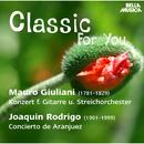 Classic for You: Giuliani: Konzert für Gitarre und Streichorchester - Rodrigo: Concierto de Aranjuez/Slowakisches Kammerorchester, Jozef Zsapka