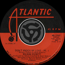 Don't Knock My Love - Pt. I / Don't Knock My Love - Pt. II [Digital 45]/Wilson Pickett