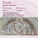Fauré: Requiem, Messe basse . Poulenc: Mass in G/Sir Philip Ledger/Martin Neary