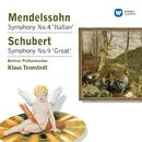 Mendelssohn: Symphony No.4 'Italian' - Schubert: Symphony No.9 'Great'/Klaus Tennstedt