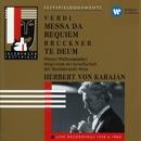 Verdi: Messa da Requiem - Bruckner: Te Deum/Herbert von Karajan