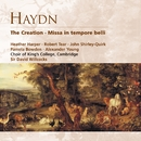Haydn: The Creation . Missa in tempore belli/Choir of King's College, Cambridge/Sir David Willcocks