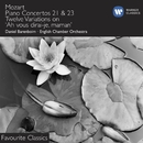 Mozart: Piano Concertos Nos. 21 & 23/Daniel Barenboim/English Chamber Orchestra