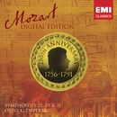 Mozart Digital Edition: Symphonies 25,29 & 31.../Otto Klemperer/Philharmonia Orchestra/New Philharmonia Orchestra