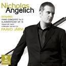 Brahms : Piano Concerto no.2 - Piano works opus 76/Nicholas Angelich/Frankfurt Radio Symphony Orchestra/Paavo Järvi