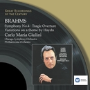 Brahms: Symphony No.4, Tragic Overture & Variations on a them by Haydn/Carlo Maria Giulini