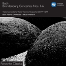 Bach: Brandenburg Concertos/Yehudi Menuhin/Dennis Clift/Bath Festival Orchestra