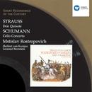 R. Strauss: Don Quixote/Schumann: Cello Concerto in A minor/Mstislav Rostropovich/Berliner Philharmoniker/Herbert von Karajan/Orchestre National de France/Leonard Bernstein