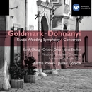 "Goldmark: Symphony No. 1, ""Rustic Wedding"" & Violin Concerto - Dohnányi: Variations on a Nursery Song/André Previn"