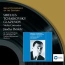 Sibelius, Tchaikovsky, Glazunov: Violin Concertos/Jascha Heifetz/London Philharmonic Orchestra