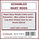 Schamlos/Mary Roos