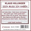 Dich muss ich haben/Klaus Hillinger