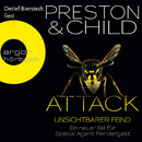 Attack - Unsichtbarer Feind (Gekürzte Fassung)/Douglas Preston