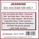 Bis ans Ende der Welt/Jeannine