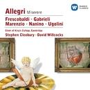 Nanino/Allegri/Marenzio/Frescobaldi/Ugolini/Gabrieli/Choir of King's College, Cambridge