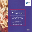 Mozart: Symphonies Nos. 31, 33 & 34/Sir Neville Marriner/Academy of St Martin-in-the-Fields