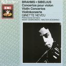 Brahms/Sibelius - Violin Concertos/Ginette Neveu/Philharmonia Orchestra/Walter Susskind/Issay Dobroven