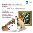 Shostakovich: Piano Concertos/Bartok: Sonata for 2 pianos & percussion/John Ogdon