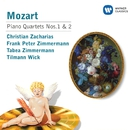 Mozart : Piano Quartets No. 1 K478 and No. 2 K493/Christian Zacharias