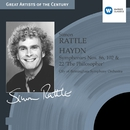 Haydn: Symphonies nos 86, 102 & 22 'The Philosopher'/Sir Simon Rattle/City of Birmingham Symphony Orchestra