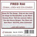 Einmal leben wie ein Cowboy/Fred Rai