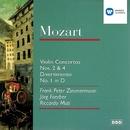 Mozart: Violin Concertos Nos. 2 & 4/Divertimento No. 1/Frank Peter Zimmermann/Württembergisches Kammerorchester Heilbronn/Jörg Faerber/Berliner Philharmoniker/Riccardo Muti