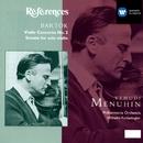 Bartók:Violin Concerto/Sonata for solo violin/Yehudi Menuhin/Philharmonia Orchestra/Wilhelm Furtwängler