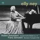 Schubert: Wanderer Fantasy & Schumann: Symphonic Etudes/Elly Ney