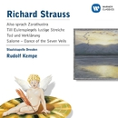 Richard Strauss:Also sprach Zarathustra etc/Rudolf Kempe/Staatskapelle Dresden