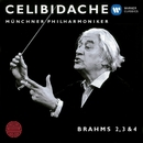 Brahms: Nos. Symphonies 2 - 4/Sergiu Celibidache