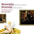 Mussorgsky: Pictures at an Exhibition - Stravinsky: The Rite of Spring/Philadelphia Orchestra/Riccardo Muti