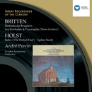 Britten:Sinfonia da Requiem, Peter Grimes/Holst:The Perfect Fool, Egdon Heath/Andre Previn