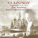 Glazunov : Symphony Nos 1, 2, 3 & 9/José Serebrier