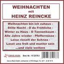 Weihnachten mit Heinz Reincke/Heinz Reincke